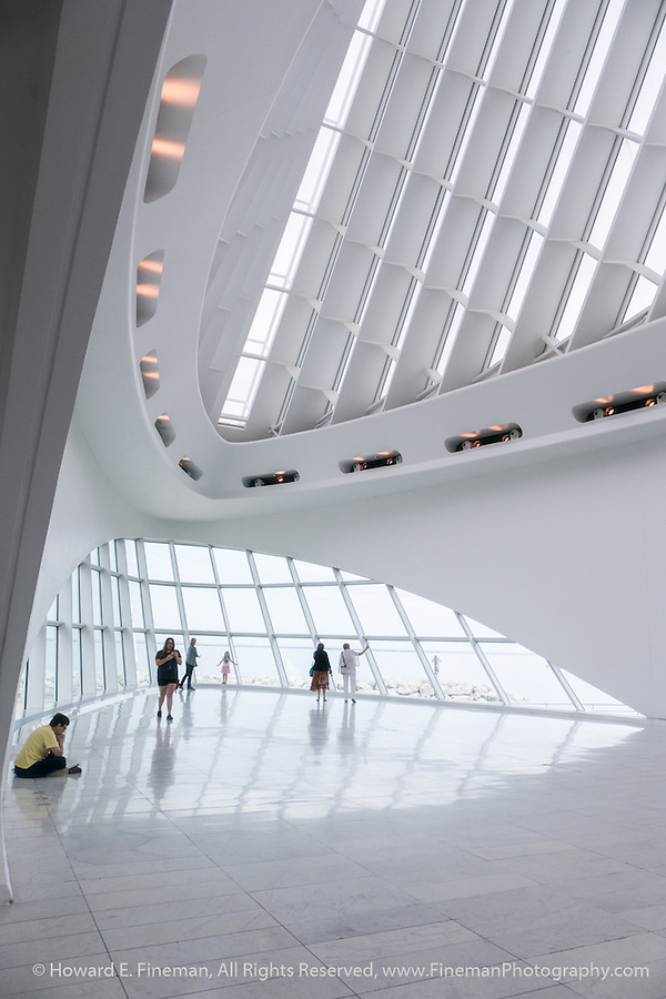 Musings On Calatrava Design 2, Milwaukee Art Museum
