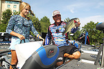 August 10, 2019: Day 2 weigh-in of the Forrest Wood Cup on Bank OZK Arena in Hot Springs, Arkansas. ©Justin Manning/Eclipse Sportswire/CSM