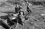 Gypsy inner city camp site Balsall Heath Birmingham UK 1967