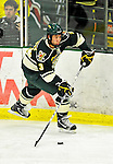 12 November 2010: University of Vermont Catamount forward Chris McCarthy, a Sophomore from Collegeville, PA, in action against the Boston College Eagles at Gutterson Fieldhouse in Burlington, Vermont. The Eagles edged out the Cats 3-2 in the first game of their weekend series. Mandatory Credit: Ed Wolfstein Photo