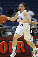 SAN ANTONIO, TX - APRIL 3: Sara James during the WBCA All-Star Game on April 3, 2010 at the Alamo Dome in San Antonio, Texas.