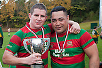 Grant Henson and Maka Tatafu. Counties Manukau McNamara Cup Premier Club Rugby final between Pukekohe andWaiuku, held at Bayer Growers Stadium, on Saturday July 17th. Waiuku won 25 - 20.