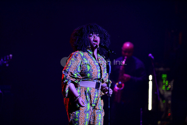 MIAMI BEACH, FL - AUGUST 30: Singer & Actress Jill Scott performs live in concert at Fillmore Miami Beach on August 30, 2016 in Miami Beach, Florida.  Credit: MPI10 / MediaPunch