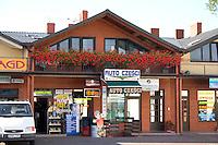 Auto repair shop in Poland.  Rawa Mazowiecka  Central Poland