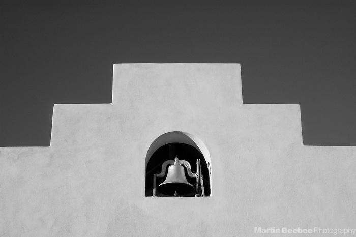 School bell at Mission San Xavier del Bac, Tucson, Arizona