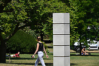 Launch of Frieze Sculpture, one of the largest outdoor exhibitions in London, with work by 25 leading international artists from across five continents in Regent&rsquo;s Park from 4th July - 7th October for three months in a free showcase which brings together a range of striking, large-scale sculptures to an international audience living in London or visiting over the summerLaunch of Frieze Sculpture, one of the largest outdoor exhibitions in London, with work by 25 leading international artists from across five continents in Regent&rsquo;s Park from 4th July - 7th October for three months in a free showcase which brings together a range of striking, large-scale sculptures to an international audience living in London or visiting over the summer. London, England on July 03, 2018.<br /> CAP/JOR<br /> &copy;JOR/Capital Pictures