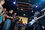 The Mercury Bar, Kaohsiung -- Delta Blues/Punk Rock legend BOB LOG III, the self-proclaimed 'One Man Guitar Party' plays a show at the Mercury Bar in Kaohsiung, Taiwan.