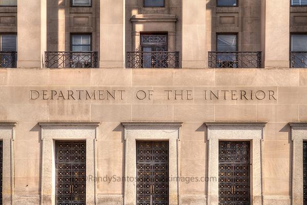 Department of the Interior Washington DC
