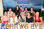 Katie Corps from Lisselton enjoying her hen party with family and friend's on Saturday night at the Kingdom Greyhound Stadium .Katie is due to marry Vadym Zubuyko on the 20th of August.Front l-r Hannah Long, Cathy Corps, Katie Corps, Tracy Corps and Catherine Walsh.Back l-r Geraldine Nolan, Mary Stack, Mary Quilter, Liz Curtin and Martina Conroy