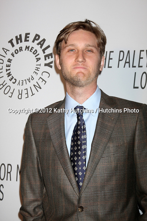 LOS ANGELES - OCT 22:  Aaron Staton arrives at  the Paley Center for Media Annual Los Angeles Benefit at The Lot on October 22, 2012 in Los Angeles, CA