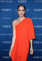 LOS ANGELES, CA - OCTOBER 9: Louise Roe, at Porter's Third Annual Incredible Women Gala at The Ebell of Los Angeles in California on October 9, 2018. Credit: Faye Sadou/MediaPunch