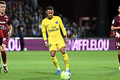 September 8th 2017, Stade Saint-Symphorien, Metz, France; French League 1 football, Metz versus Paris St Germain;  NEYMAR JR (psg)