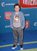 "LOS ANGELES, CA. November 05, 2018: Maxwell Simkins at the world premiere of ""Ralph Breaks The Internet"" at the El Capitan Theatre.<br /> Picture: Paul Smith/Featureflash"