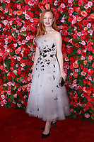 NEW YORK, NY - JUNE 10: Lauren Ambrose at the 72nd Annual Tony Awards at Radio City Music Hall in New York City on June 10, 2018.