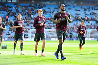 Leroy Fer of Swansea City during the pre-match warm-up for the Sky Bet Championship match between Aston Villa and Swansea City at Villa Park in Birmingham, England, UK.  Saturday 20 October  2018