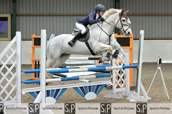 Class 4. British Showjumping Juniors. Brook Farm training centre. Stapleford abbots. Essex. 25/03/2018. ~ MANDATORY CREDIT Garry Bowden/SIPPA - NO UNAUTHORISED USE - +44 7837 394578