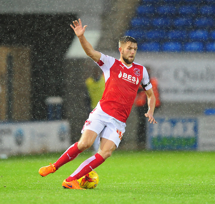 Fleetwood Town&rsquo;s Joe Davis<br /> <br /> Photographer Chris Vaughan/CameraSport<br /> <br /> Football - The Football League Sky Bet League One - Peterborough United v Fleetwood Town - Saturday 14th November 2015 - ABAX Stadium - Peterborough<br /> <br /> &copy; CameraSport - 43 Linden Ave. Countesthorpe. Leicester. England. LE8 5PG - Tel: +44 (0) 116 277 4147 - admin@camerasport.com - www.camerasport.com