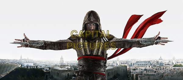 Assassin's Creed (2016) <br /> Promotional art with Michael Fassbender<br /> *Filmstill - Editorial Use Only*<br /> CAP/KFS<br /> Image supplied by Capital Pictures