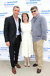 LOS ANGELES - MAY 15: Liev Schreiber, Ilyanne Morden Kichaven, Michael Kichaven at The Actors Fund's Edwin Forrest Day celebration at a private residence on May 15, 2016 in Sherman Oaks, California