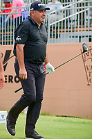 &Aacute;ngel Cabrera (ARG) watches his tee shot on 17 during round 2 of the Valero Texas Open, AT&amp;T Oaks Course, TPC San Antonio, San Antonio, Texas, USA. 4/21/2017.<br /> Picture: Golffile | Ken Murray<br /> <br /> <br /> All photo usage must carry mandatory copyright credit (&copy; Golffile | Ken Murray)