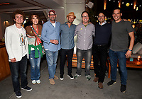 ABC/DISNEY TELEVISION STUDIOS/FX/NAT GEO PARTY AT SAN DIEGO COMIC-CON© 2019: L-R: Sean Giambrone and Mary Mack, Mike Mendel, Executive Producer Josh Bycel, Executive Producer Mike McMahan, President Disney Television Studios, Craig Hunegs and Billy Rosenberg attend the ABC/Disney Television Studios/FX/NatGeo Party on Friday, July 19 at at the Pendry Hotel Rooftop at SAN DIEGO COMIC-CON© 2019. CR: Frank Micelotta/Disney Television Studios © 2019 Disney Television Studios
