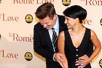 Alec Baldwin, Ilaria Thomas.Roma 13/4/2012 Auditorium.To Rome with Love - World Premiere.Foto Insidefoto Andrea Staccioli