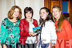 Michelle Moriarty-Jones, Joan Lucey, Alanna Jones and Kay O'Leary at Tom Lucey new CD launch concert in the Gleneagle Hotel on friday evening