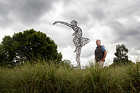 Shape of the future -  Dorset sculpture park reopens after the covid 19 lockdown.