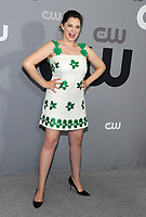 NEW YORK, NY - MAY 17: Rachel Bloom at the 2018 CW Network Upfront at The London Hotel on May 17, 2018 in New York City. Credit: John Palmer/MediaPunch