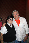 "One Life To Live Lea DeLaria ""Madame Delphina"" and Jerry verDorn at Annual Daytime Stars & Strikes Charity Event to benefit The American Cancer Society on October 7, 2012 at Bowlmor Lanes Times Square, New York City, New York.  (Photo by Sue Coflin/Max Photos)"