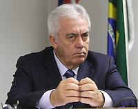 ATENCAO EDITOR: FOTO EMBARGADA PARA VEICULO INTERNACIONAL - SAO PAULO, SP, 11 NOVEMBRO 2012 - REUNIAO DO (COPS) E PLENARIA DA (ACSP)  - A Federaçao das Associaçoes  Comerciais do Estado de Sao Paulo (FACESP), recebeu nessa segunda feira em reuniao do Conselho Politico e Social (COPS), conjunta com a reuniao plenaria o prefeito de Sao Paulo Gilberto Kassab e o governador do estado da Bahia Jaques Wagner e contou com a presença do vice governador da Bahia Otto Alencar (Foto), na sede da Associaçao Comercial de Sao Paulo na regiao da  Se no centro da cidade nessa segunda, 12 (FOTO LEVY RIBEIRO/BRAZIL  PHOTO PRESS)