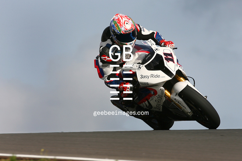 2010 Superbike World Championship, Round 02, Portimao, Portugal, 28 March 2010, Troy Corser (AUS), 11, BMW