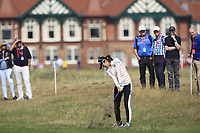 Mi Jung Hur (KOR) on the 2nd fairway during Round 3 of the Ricoh Women's British Open at Royal Lytham &amp; St. Annes on Saturday 4th August 2018.<br /> Picture:  Thos Caffrey / Golffile<br /> <br /> All photo usage must carry mandatory copyright credit (&copy; Golffile | Thos Caffrey)