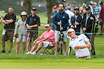 CROMWELL, CT. 20 June 2019-062019 - PGA Tour player Brandt Snedeker hits from the bunker on the fourth hole, during the first round of the Travelers Championship at TPC River Highlands in Cromwell on Thursday. Bill Shettle Republican-American