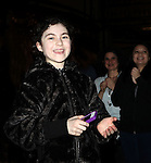 Lilla Crawford attending the Broadway Opening Night Performance  Gypsy Robe Ceremony celebrating Merwin Foard recipient  for 'Annie' at the Palace Theatre in New York City on 11/08/2012
