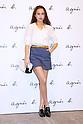 Nicole Ishida, Apr 7, 2016 : agnes b. fashion show a whole story in Tokyo, Japan on April 7. (Photo by Sho Tamura/AFLO)