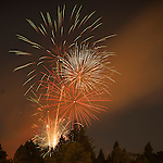 Independence Day celebration with the Jackson Lions Club on July 3, 2012..Fireworks