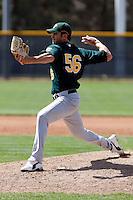 Scott Mitchinson - Oakland Athletics - 2009 spring training.Photo by:  Bill Mitchell/Four Seam Images