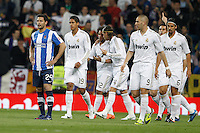 24.03.2012 SPAIN -  La Liga matchday 30th  match played between Real Madrid CF vs Real Sociedad (5-1) at Santiago Bernabeu stadium. The picture show Real Madrid CF player's celebrating his team's goal