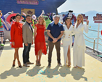 Janina Uhse, Rick Kavanian, Anke Engelke, Genndy Tartakovsky, Raya Abirached &amp; Lesia Nikitiuk at the photocall for &quot;Hotel Transylvania 3: A Monster Vacation&quot; at the 71st Festival de Cannes, Cannes, France 07 May 2018<br /> Picture: Paul Smith/Featureflash/SilverHub 0208 004 5359 sales@silverhubmedia.com