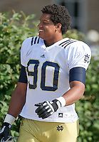 Defensive end Isaac Rochell (90)