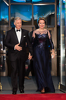 King Philippe & Queen Mathilde of Belgium on a State Visit - Official Belgian concert - Ot