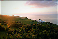BNPS.co.uk (01202 558833)<br /> Pic: JohnEvans/BNPS<br /> <br /> A sound move...<br /> <br /> With its stunning location and fascinating history this former foghorn station will certainly give its new owners something to shout about.<br /> <br /> The quirky property, which sits on the edge of a 200ft cliff near Whitby, North Yorks, has gone on the market as a home for only the second time in its history - for offers around &pound;525,000.<br /> <br /> Outgoing owners John and Janet Evans bought Whitby Foghorn Station in 2007 and modernised it to provide them with a stunning home and regular income from two holiday cottages on site.<br /> <br /> The property was originally built in 1858, two years after Trinity House bought the land and was originally one of two lighthouses on the clifftop.
