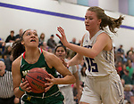 A photograph taken during the class 4A Northern Regional Girls Basketball Championship game at Spanish Springs High School in Sparks, Nev., Saturday, Feb. 22, 2020.