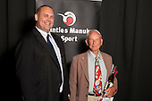 Service to Sport Recpient Jack McCoskrie from the Papaptoetoe Tennis Club.  Counties Manukau Sport Sporting Excellence Awards held at the Telstra Clear Pacific Events Centre Manukau on December 1st 2011.