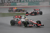SEPANG, MALASIA, 25 DE MARCO 2012 - F1 - GP MALASIA - <br /> O piloto britanico Lewis Hamilton da equipe Ferrari, durante o GP da Malásia, no circuito de Kuala Lumpur, em Sepang, neste domingo, 26. (FOTO: THOMAZ MELZER / PIXATHLON /  BRAZIL PHOTO PRESS).