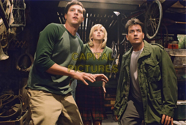 SIMON REX, ANNA FARIS & CHARLIE SHEEN.in Scary Movie 3.Filmstill - Editorial Use Only.Ref: FB.www.capitalpictures.com.sales@capitalpictures.com.Supplied by Capital Pictures
