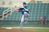 Lexington Legends starting pitcher Charlie Neuweiler (31) in action against the Kannapolis Intimidators at Kannapolis Intimidators Stadium on August 4, 2019 in Kannapolis, North Carolina. The Legends defeated the Intimidators 5-1. (Brian Westerholt/Four Seam Images)