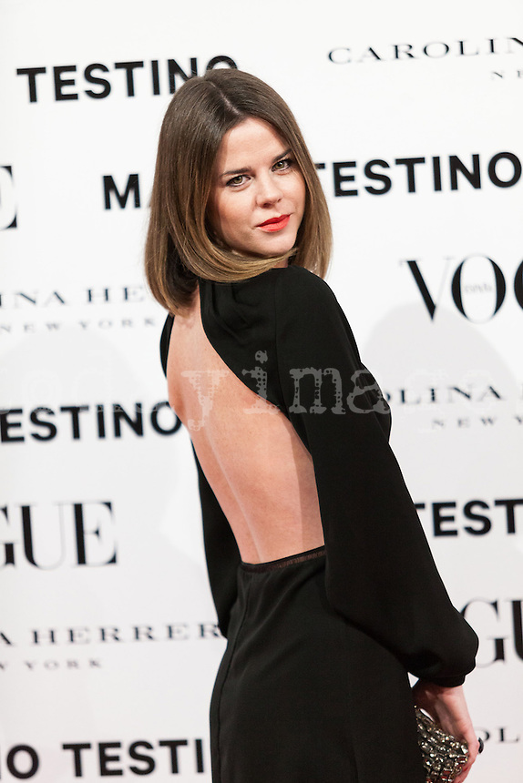 Amelia Bono at Vogue December Issue Mario Testino Party