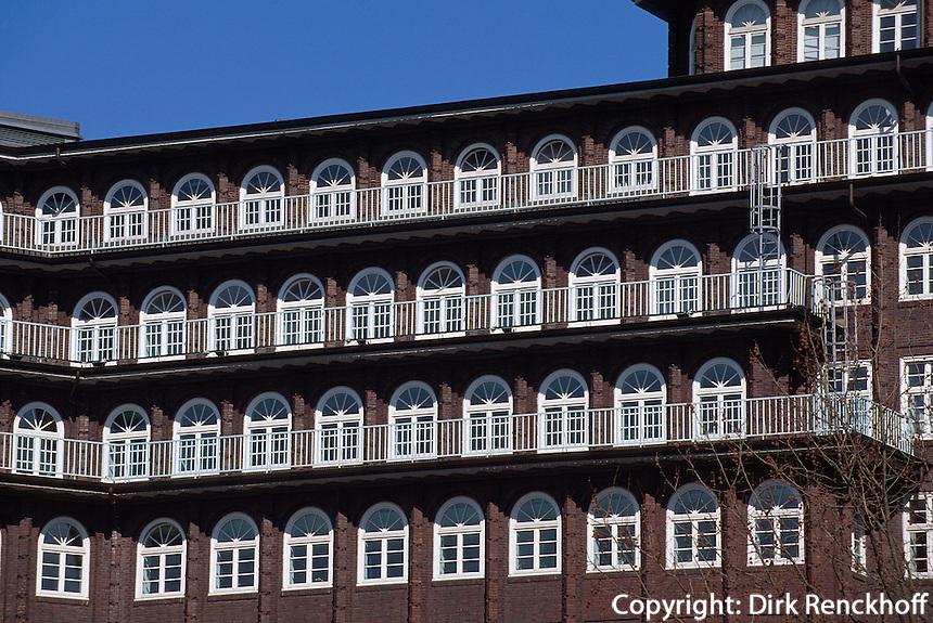 Chilehaus in Hamburg, Deutschland